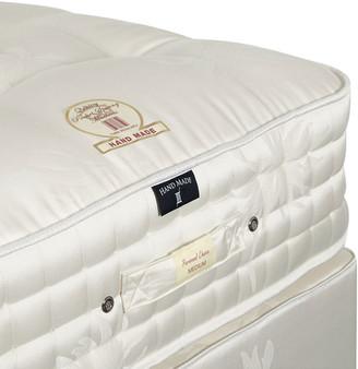 OKA Deluxe King Mattress & Divan Bed - White