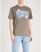Billionaire Boys Club Damaged Logo-print Cotton-jersey T-shirt