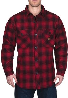 Men's Walls Weldon Vintage Plaid Bonded Shirt Jacket