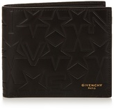 Givenchy Bi-fold embossed leather wallet