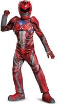 Disguise Power Rangers Red Ranger Prestige Costume (Little Boys & Big Boys)