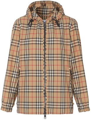 Burberry Archive Check Kway Jacket