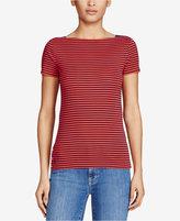 Lauren Ralph Lauren Boat Neck T-Shirt