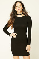 Forever 21 FOREVER 21+ Bodycon Knit Dress