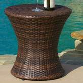 Beachcrest Home Grayling Wicker Side Table