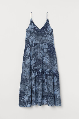 H&M Cotton-blend maxi dress