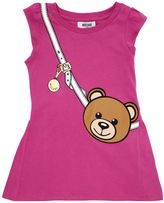 Moschino Teddy Bear Printed Cotton Jersey Dress
