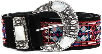 Etro Bead-Embellished Belt