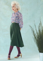 ModCloth Styled Reliability Midi Skirt in 4X