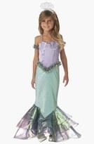 Incharacter Costumes 'Magical Mermaid' Dress & Headband (Little Girls & Big Girls)