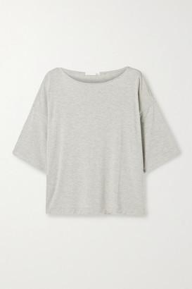 Skin - Louisianne Stretch-jersey Top - Gray
