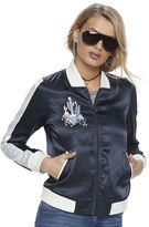 Juicy Couture Women's Satin Bomber Jacket