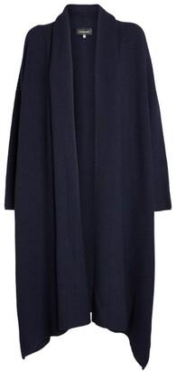 eskandar Cashmere Shawl-Collar Cardigan