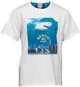 Bench Boys Shark T-Shirt White