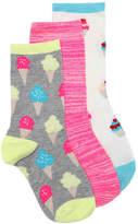 Olive & Edie Girls Ice Cream & Cupcakes Toddler & Youth Crew Socks
