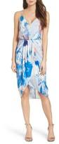 Chelsea28 Women's Print Faux Wrap Dress