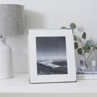"The White Company Fine Silver Photo Frame 8x10"", Silver, One Size"