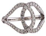 Di Modolo 18K Diamond Fiamma Cocktail Ring