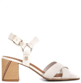 Tommy Hilfiger Block Heel Strappy Sandals