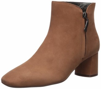 Marc Joseph New York Women's Genuine Leather Luxury Ankle Boot with Zipper