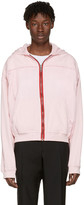 Haider Ackermann Pink Zip-up Hoodie
