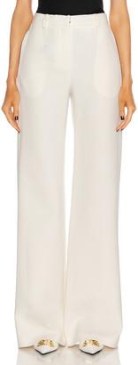 Magda Butrym Wide Leg Pants in Cream   FWRD