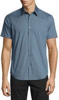 Theory Sylvain S Wealth Short-Sleeve Sport Shirt