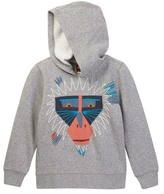 Tea Collection Saru Embroidered Graphic Hoodie (Toddler, Little Boys, & Little Boys)
