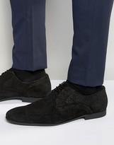 Dune Matt Snake Lace up Shoes