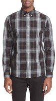Paul Smith Extra Trim Fit Plaid Sport Shirt