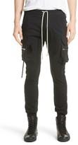 Rick Owens Men's Cargo Jogger Pants