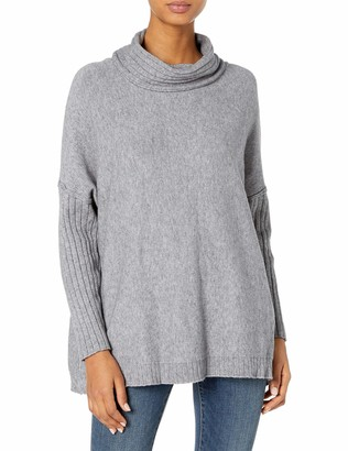 M Made in Italy Women's Long Sleeve Turtle Neck Sweater