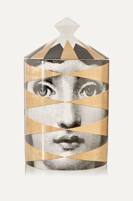Fornasetti Losanghe Scented Candle, 300g - Gold