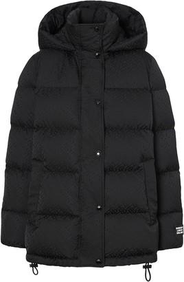 Burberry monogram puffer jacket