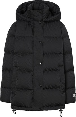 Burberry Monogram Puffer Jacket