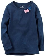 Carter's Tulle Puff Top - Navy - 4T