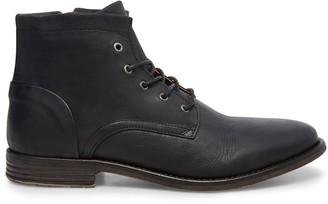 Steve Madden Mufasa Black Leather