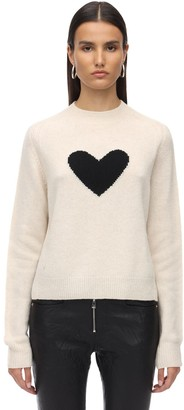 Zadig & Voltaire Heart Cashmere Knit Sweater
