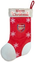 Arsenal FC Soccer Official Gift Christmas Flashing Light Stocking
