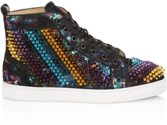 Christian Louboutin Galvalouis High-Top Sneakers
