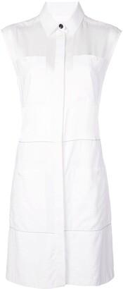 Proenza Schouler White Label Sleeveless Shirt Dress