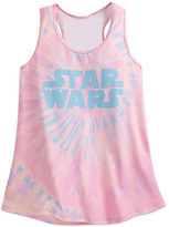 Disney Star Wars Logo Tie-Dye Tank Tee for Women