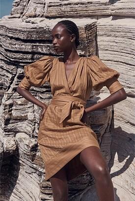 Witchery Texture Cotton Mini Dress
