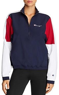 Champion Color-Block Half-Zip Jacket