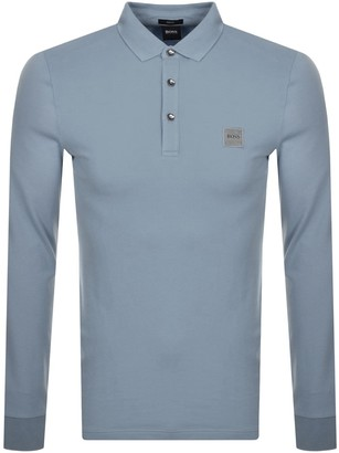 BOSS Passerby Polo T Shirt Grey