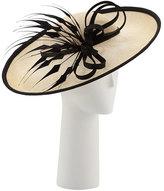 Rachel Trevor-morgan Rachel Trevor Morgan Straw Sidesweep Hat, Light Beige