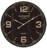 "Aurora Traditional Decorative Clock (5.12 X 40.35 X 40.16"")"