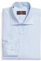 Robert Talbott Men's Tailored Fit Stripe Dress Shirt