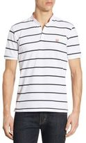 The Kooples Striped Short Sleeve Polo