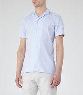 Reiss Vixen Textured Stripe Shirt
